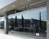 PR86/R76 Flexible Glass Door