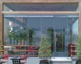 PR 150 Flexible Glass Door