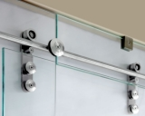 Sliding Door Solid S.S Rail