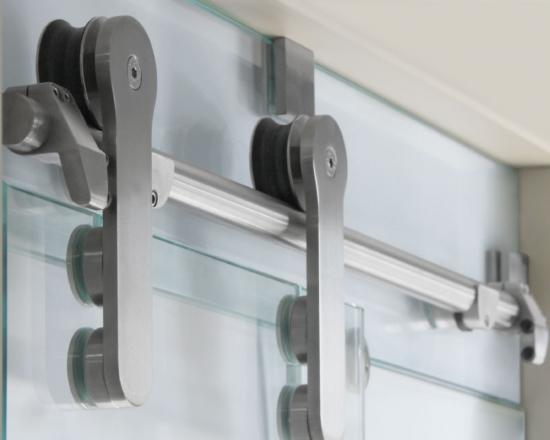 Συρόμενη πόρτα INAL με Ανοξείδωτο Σωλήνα