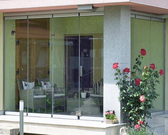 PR 100 Mini Flexible Glass Door